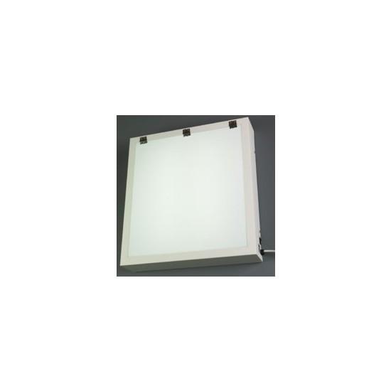 Fazzini lichtkast wit metaal, met tl buis