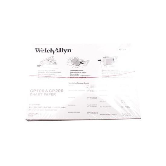 Welch allyn ECG papier CP100 CP150 CP200