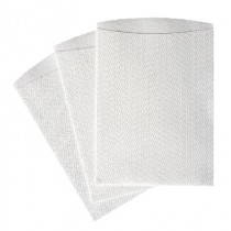 Curas Washandjes Non woven Visc/Poly 80gsm 24x16cm wit SOFT
