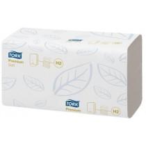 Handdoek Tork Premium Interfold 26x21cm (H2)