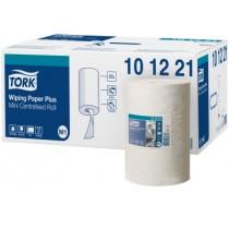 Poetsrol Tork Advanced 420 mini handdoekrol wiping paper 75mx21,5cm, doos 11 rollen