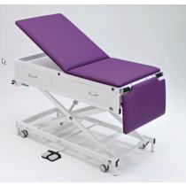 Habru onderzoekbank MMEL-V (poot, korte rug, elektrisch) incl. voetenlade