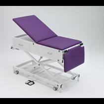 Habru onderzoeksbank MMEL-V (wiel/poot verstel, korte rug, elektrisch) incl. voetenlade