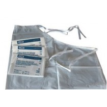 Disposable schorten 72x120cm wit Flat Pack