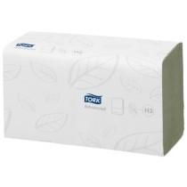 Handdoek Tork 290179 Green Singlefold
