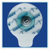 ECG Elektrode foam basis solid gel, drukknop