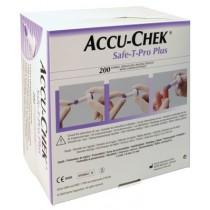 Lancetten Accu-check Safe T-Pro Plus (200 stuks)