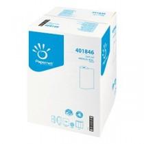 Onderzoekbankpapier  2lgs wit 50mtrx54,3cm ECO-label