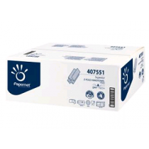 Handdoek Papernet 407551 interf. DryTech 2lgs TAD 24x20,3cm