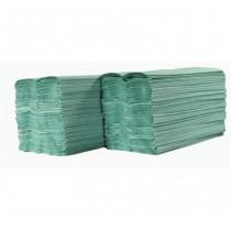 Handdoek Papernet 406344 Special groen z/z vouw 2lgs 24x23c*