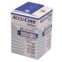 Accu-Check Aviva Strips Glucosetesten