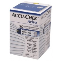 Glucosestrip Accu-chek Aviva plasma