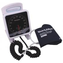 Bloeddrukmeter W-A aneroid tafelmodel met kleefmanchet
