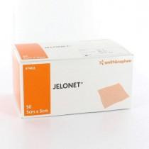 Jelonet gaaskompres paraffine 5 x 5 cm steriel