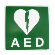 Pictogram AED 15 x 15 cm sticker