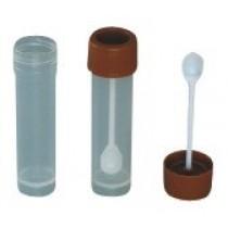 Terumo fecespotjes 30 ml met schroefdop en lepel