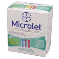 Lancet Microlet gekleurd