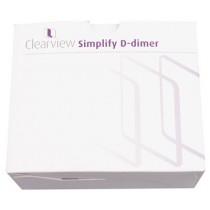 Clearview Simplify D-Dimer test (10 testen)
