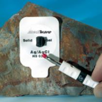 ECG Elektrode foam 51x36mm Quickspot Solid Gel voor stekker Mediware