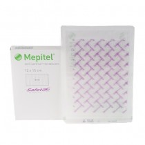 Silicone verband Mepitel one adh. 12x15cm -s-