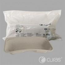 Nierbekken Curas Clean pulp 600ml pack grijs (per 25 stuks)
