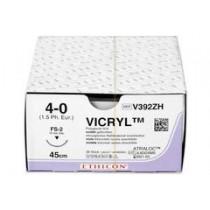 Vicryl 4-0; 45 cm violet FS-2 V392ZH (36 stuks)